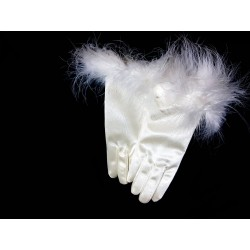 Ivory First Holy communion Gloves Style 3700