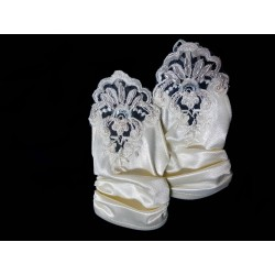 Ivory First Holy Communion Gloves Style 739-A