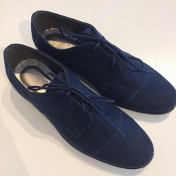 Navy Seude Boys Holy Communion/Special Occasion Shoes BSH05