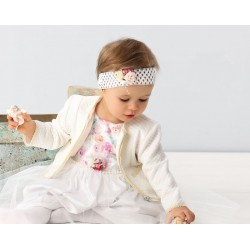 Ivory Christening Baby Girl Bolero Style GB004
