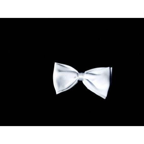 White Baby Boy Christening/Baptism Bow Tie Style WM008 WHITE