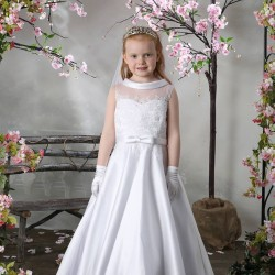 Celebrations First Holy Communion Dress Style CHERRY
