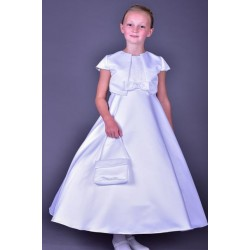 Elegant Communion Dress Poinsettia Style ST1314A