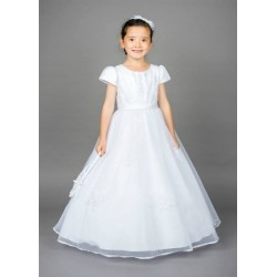 Lovely Poinsettia Communion Dress Style ST1326A
