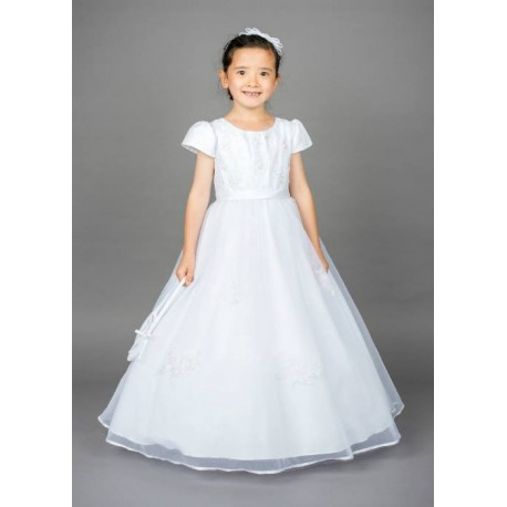 Lovely Poinsettia Communion Dress Style ST1326A