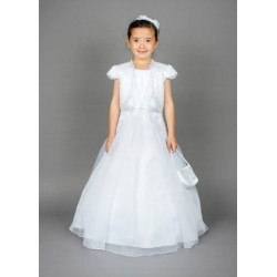 Gorgeous Poinsettia Communion Dress with Bolero Style CT5130A