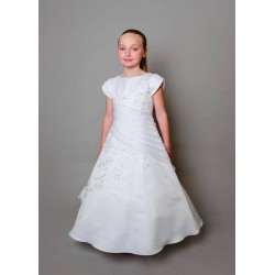 Lovely Poinsettia Communion Dress Style CT5064A Nessa