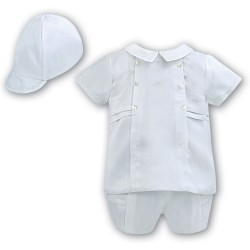 Sarah Louise Baby Boy Christening 3 Piece Set Style 002225