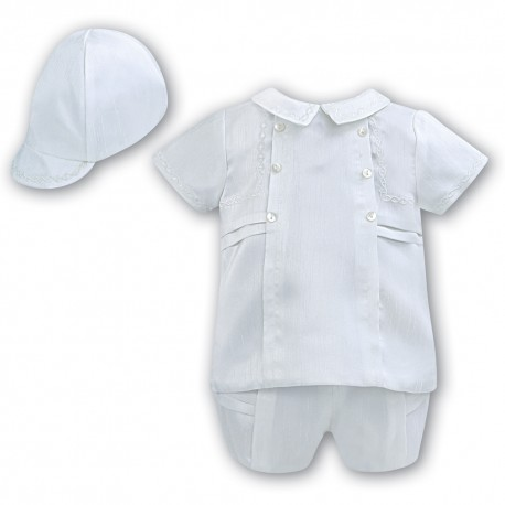 Sarah Louise Baby Boy Christening 3 Piece Set Style 002225