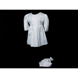Simple White Christening Dress Style ESTERA