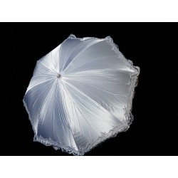 First Holy Communion Parasol with Lace Style CU504