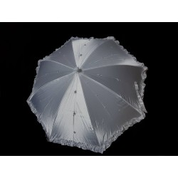 First Holy Communion Parasol with Pearls&Diamonds Style CU497