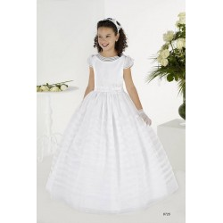 Gorgeous White First Holy Communion Dress Style 8725