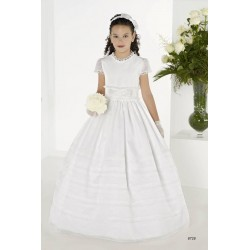 Beautiful White First Holy Communion Dress Style 8728