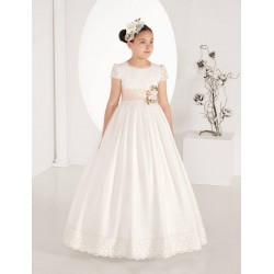 Lovely Ivory First Holy Communion Dress Style 7461