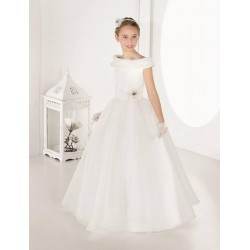 Gorgeous Ivory First Holy Communion Dress Style 7404