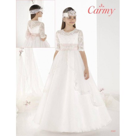 Stunning Ivory First Holy Communion Dress Style 9505