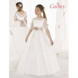 Lovely Ivory First Holy Communion Dress Style 9406