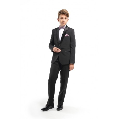 2 Piece Special Occassions Boys Suit Style BLACK