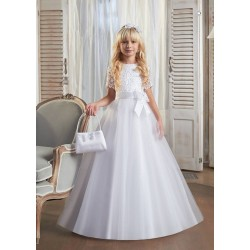 Handmade First Holy Communion Dress Style LETTI