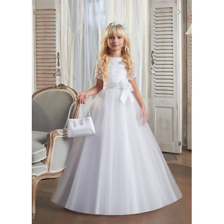 Hand Made First Holy Communion Dress Style LETTI