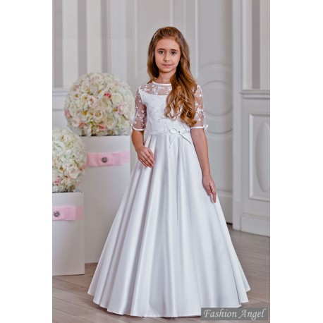 Lovely Lace Handmade First Holy Communion Dress Style ORLA