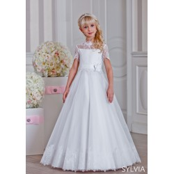 Handmade First Holy Communion Dress Style SYLVIA