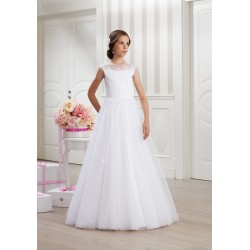 Handmade First Holy Communion Dress Style LEA