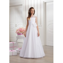 Handmade Sleeveless Holy Communion Dress Style OXANA