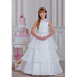 Stunning Handmade First Holy Communion Dress Style ANGIE