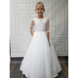 Beautiful Handmade First Holy Communion Dress Style ANN