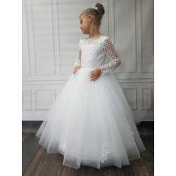 Stunning Handmade First Holy Communion Dress Style ARLETTA BIS