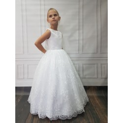 Gorgeous Handmade First Holy Communion Dress Style JOANNA BIS