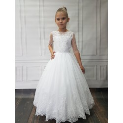 Beautiful Handmade First Holy Communion Dress Style BETTY