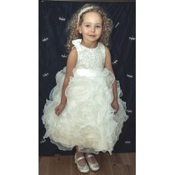 Ivory Sevva Flower Girl Dress Style PRINCESS