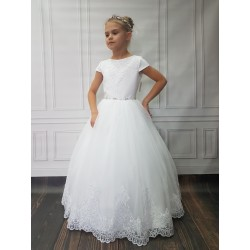 Amazing Handmade First Holy Communion Dress Style DORIS