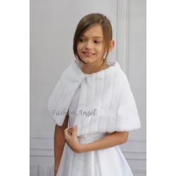 First Holy Communion Fur Cape Style CB07