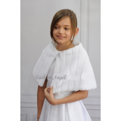 First Holy Communion Fur Cape Style FUR CAPE