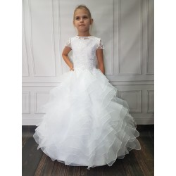 Amazing Handmade First Holy Communion Dress Style JUDITH