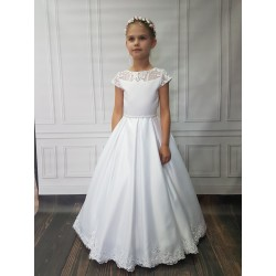 Lovely Handmade First Holy Communion Dress Style KAYAH