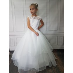 Beautiful Handmade First Holy Communion Dress Style LAURA