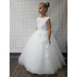 Lovely Handmade First Holy Communion Dress Style LIVIA