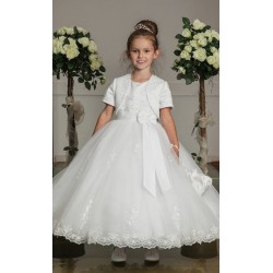 First Holy Communion Dress&Bolero Style EVA
