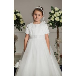 Communion Dress with Diamonts Belt style Cordelia