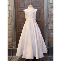 First Holy Communion White Dress Style CELESTE