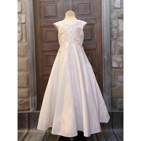 First Holy Communion White Dress Style CELESTE