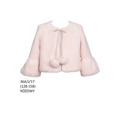 Pink Faux Fur Bolero Style 36/A/J17