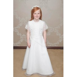 First Holy Communion Dress & Bolero Style SOPHIE