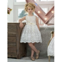 Paisley of London Champagne Flower Girl/Special Occasion Dress Style LAYLA