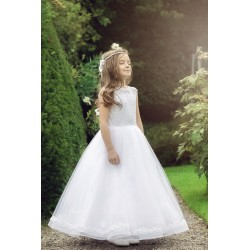 Gorgeous Handmade First Holy Communion Dress Style AMADEA